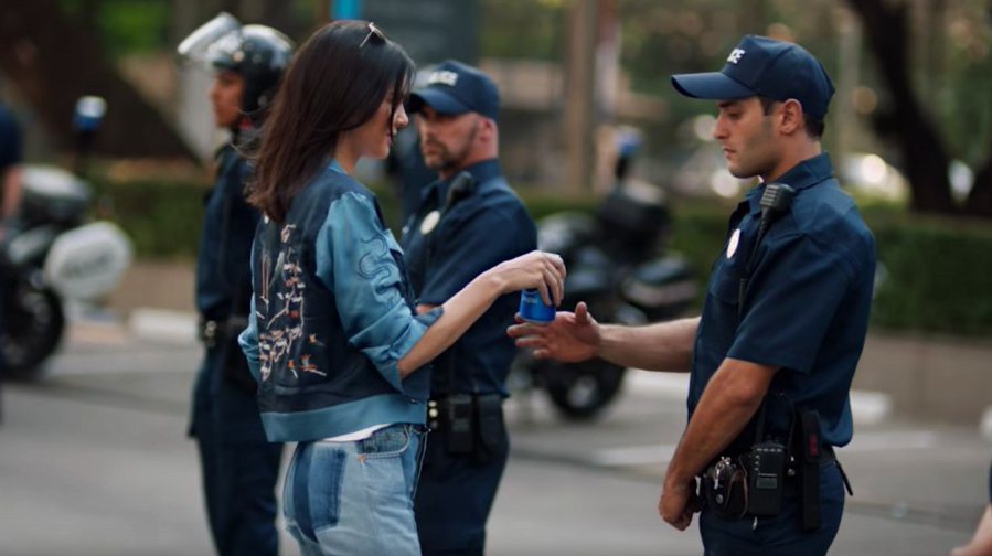 Pepsi and Kendall Jenner End Police Brutality… SIKE